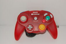 Nintendo GameCube Hori controller Clear Red From Japan G0043
