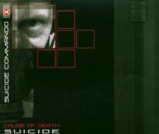 SUICIDE COMMANDO - CAUSE OF DEATH: SUICIDE   CD SINGLE NEW+