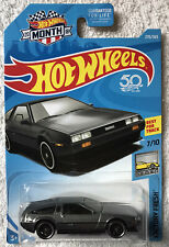 2018 Hot Wheels Dmc Delorean (Gray) Factory Fresh #270/365