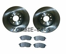 NISSAN JUKE 1.5 1.6 2.0 DCi FRONT BRAKE DISCS AND PADS SET NEW