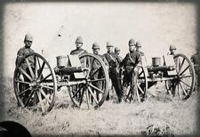 More details for high quality digital print of gattling gun team anglo zulu war