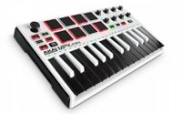 Akai Professional USB MIDI Keyboard Controller 8Pad MPK Mini MK2 WHITE Japan New