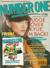 NUMBER ONE MAGAZINE MADONNA TYREE TONY GREGORY EAGLE EYE CHERRY JUNE 1988