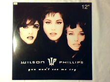 """WILSON PHILLIPS You won't see me cry 12"""" ITALY 3 TRACKS EAGLES RARE LIKE NEW!!!"""