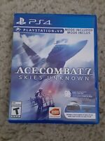 Ace Combat 7: Skies Unknown (PlayStation 4, 2019)