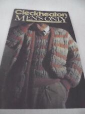 Contemporary Sweaters Crocheting & Knitting 12 Ply Wool Weight Patterns