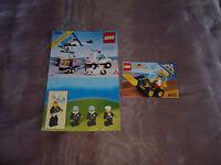 Legoland  Bauplan LEGO 6354 & 6512 Bauanleitung Instructions Pursuit Squad Lader