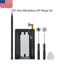 Genuine OEM HTC One M8 2600mAh 3.8V Internal Battery B0P6B100 9.88Whr Li-ion New