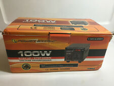 PowerBright 100W Step Up & Down Transformer, Power On/Off Switch - New