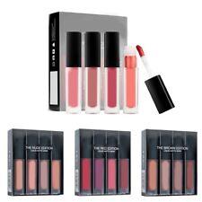 4Pcs/Set Waterproof Matte Lip Gloss Liquid Long Lasting Lipstick Makeup Li new