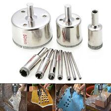 10 pcs 3-50mm Diamond Tool Drill Bit Hole Saw Set Glass CeramicMarble Tile Ki Yg