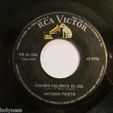 ANTONIO PRIETO / CUANDO CALIENTA EL SOL / CARA DE PAYASO/ 45 RPM / NM / EX+