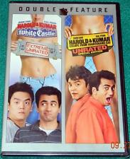 HAROLD & KUMAR ... GO TO WHITE CASTLE / ESCAPE FROM GUANTANAMO BAY, DVD, SEALED