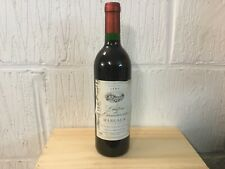 1 bouteille  Margaux Château de Lamouroux Millésime 1987