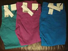 "Ladies Coloured Jeans skinny Calvin Klein 34"" long leg teal  30"" waist"