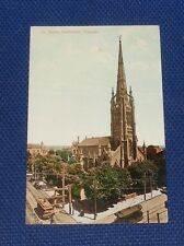 St James Cathedral, Toronto, Canada - Old Picture Postcard