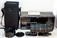 SIGMA 50-500mm F4.5-6.3 APO  DG OS Canon EF mount, same IQ as 150-500mm