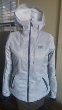 HELLY HANSEN PROFESSIONAL WOMENS SZ MEDIUM LIGHT Ski Jacket GREY *issues