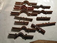 Lot of 12: Pipe Tubing riser clamp brackets, B-Line, Anvil and more