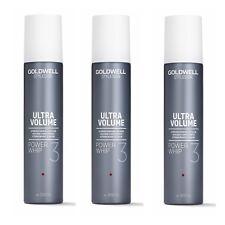 3 x Goldwell ULTRA VOLUME POWER WHIP 300 ml = 900 ml deutsche Produkte