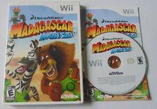 Madagascar Kartz (Nintendo Wii, 2009) complete