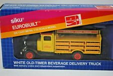 SIKU 2860 WHITE OLD-TIMER COCA-COLA Beverage Delivery Truck w/ 12 x Crates MIB
