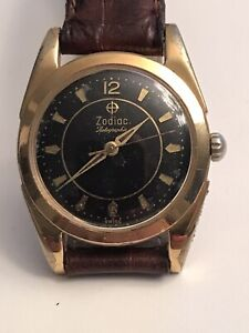 Zodial  Rotorgraphic Vintage Wristwatch 1960's