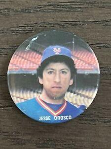 1986 Star Baseball Buttons Jesse Orosco New York Mets
