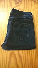 "Women's Riders By Lee Stretch Bootcut Jeans Size 10P W31"" x L30"" Black (BX2)"
