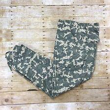 Digital Camo Pants Desert Camouflage 8-Pocket Trouser Mens Workwear Sz W34 x L32