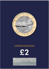 2018 Regno Unito RAF 2018 RE DEL MARE certificata BU £ 2 MONETA qualità superiore dal mio magazzino