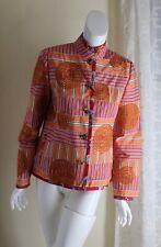 KOOS van den AKKER S / M Couture Funky VTG Medallion Fine Art-to-Wear Jacket