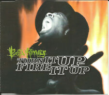 BUSTA  RHYMES Turn it up Fire REMIX & INSTRUMENTAL & CLEAN CD single SEALED