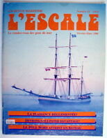 LA REVUE MARITIME L'ESCALE DE FÉVRIER-MARS 1986, No.13 ***** ONE FRENCH MAGAZINE