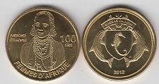 BASSAS DA INDIA (French territory) 100Francs 2012 Ethiopian woman, unusual coin