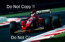 Gerhard Berger Ferrari 412 T1B Italian Grand Prix 1994 Photograph