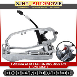 Door Handle Carrier for BMW X5 E53 2000-2006 3.0L 4.4L Front Right 51218243616