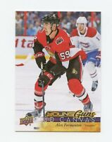 17/18 UPPER DECK YOUNG GUNS CANVAS ROOKIE RC #C220 ALEX FORMENTON SENATORS 57552