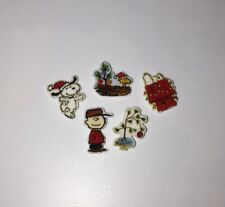 Charlie Brown Float Charms 5 Floating Charms Locket Snoopy Charms Christmas