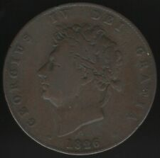 1826 George IV Halfpenny Coin | British Coins | Pennnies2Pounds