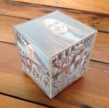 Vtg 70s Photo Square Plastic Rotating Wind-up Music Box Lara's Theme Dr Zhivago
