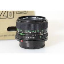 Canon FD 28 mm F/2.8 FD Objektiv - Canon Lens FD 28mm 1:2.8