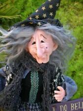 """I Do Believe In Spooks"" Witch - Ooak ! By Barbora"