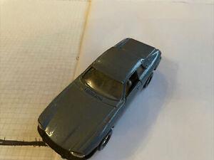Sammlung! toller Corgi Jaguar XJS Coupé blau Modellauto 1:36 vintage