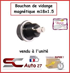 bouchon de vidange magnétique m18x1.5 convient ALPHA ROMEO,SAAB,FIAT,OPEL,LANCIA