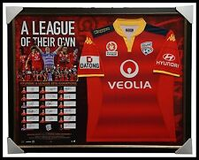 Adelaide United Signed 2016 A-League Premiers OFFICIAL Team Signed Jersey Framed