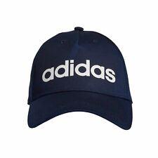 8629bf83e24 adidas Daily Sports Snapback Baseball Cap Hat Navy Blue - Mens