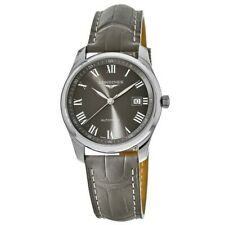 New Longines Master Collection Automatic 40mm Grey Men's Watch L2.793.4.71.3