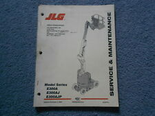 1999 JLG MODEL E300A E300AJ E300AJP SERVICE & MAINTENANCE MANUAL 3120772 BOOM