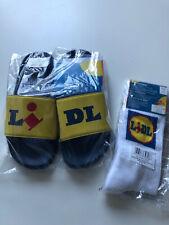 Lidletten von ESMARA 39 - LIDL Badelatschen - Badepantoletten + Socken 39-42